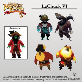 LeChuck versions-se