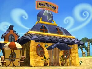 Planet Threepwood-Exterior