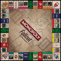 Monoopoly Fallout Board