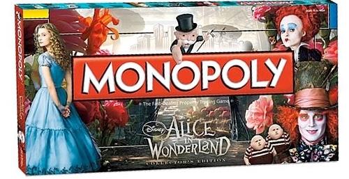 Resultado de imagen de monopoly alice in wonderland