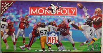 Monopoly NFL 1998 31-team Edition box 01