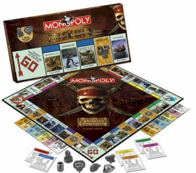 Monopoly Pirates Caribbean Trilogy Edition