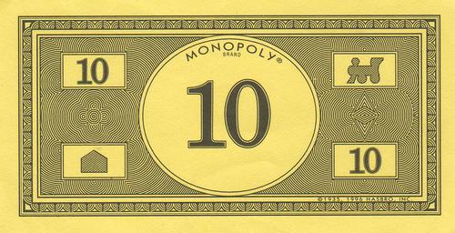 Monopoly Money Template Printable
