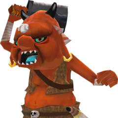 A Bokoblin from <i>Skyward Sword</i>