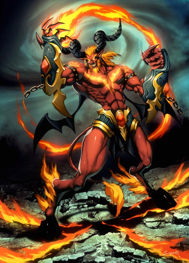 Final Fantasy Ifrit Wallpaper Ifrit | Monster Wiki |...