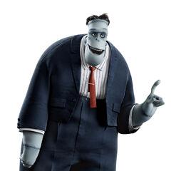 Frankenstein in the movie
