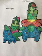 Ivysaur and Venusaur Alraunes