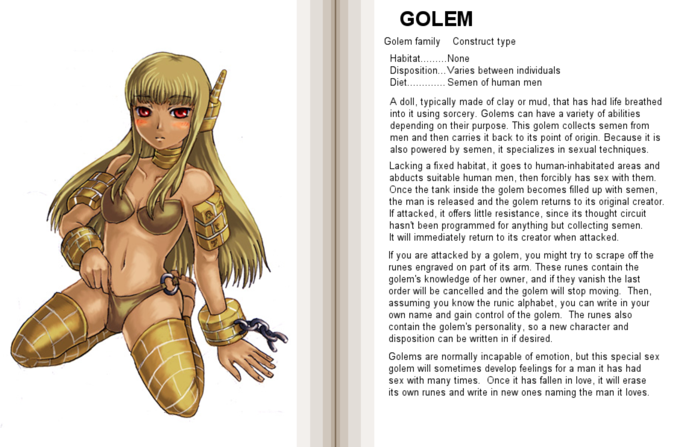 Golem girl softcore movies