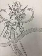 Echidna Sketch