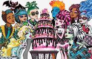 Profile art - Sweet 1600 cake group