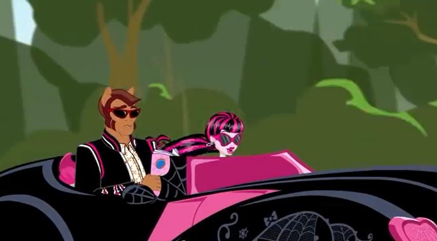 Car Games Monster High