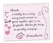 Facebook - Draculaura's love poem