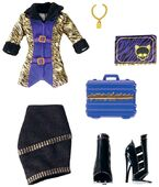 Doll stockphotography - School Clubs Clawdeen