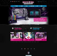 Website - January 2015 main page