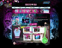 Website - December 2014 main page