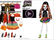 Stardoll - Scaris City of Frights Skelita