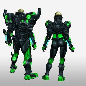 FrontierGen-Genome Armor 008 (Both) (Back) Render