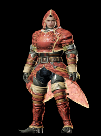 File:MHO-Red Khezu Armor (Blademaster) (Male) Render 001.png