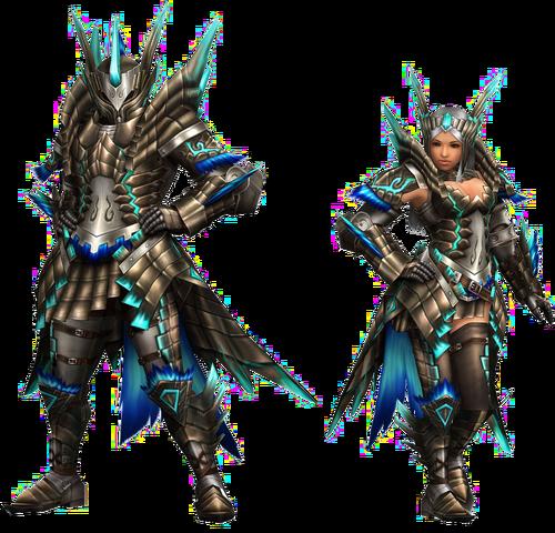 File:FrontierGen-Shourou G Armor (Blademaster) Render 2.png