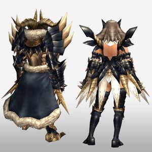 FrontierGen-Tinku Armor (Both) (Back) Render
