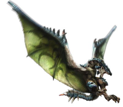 MH4-Azure Rathalos Render 001.png