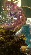MHSP-Mizutsune and Zinogre Screenshot 001