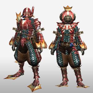 FrontierGen-Apukaru Armor (Both) (Front) Render
