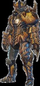 MHO-Tigrex Armor (Gunner) (Male) Render 001