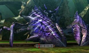 MH4U-Plum Daimyo Hermitaur Right Claw Break 001