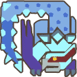 MH3U-Lucent Nargacuga Icon.png