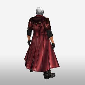 FrontierGen-Dante Armor 003 (Male) (Both) (Back) Render