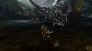 MHP3-Silver Rathalos Screenshot 001