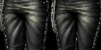 Black Leather Chaps (Blademaster) (MH3U)