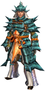 FrontierGen-Kutkusu G Armor (Male) (Blademaster) Render 001