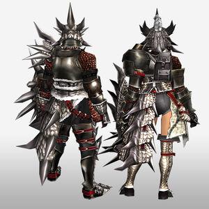FrontierGen-Sol G Armor (Gunner) (Back) Render