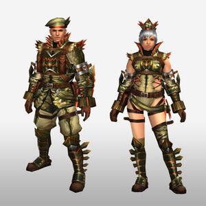 FrontierGen-Abio Armor (Blademaster) (Front) Render