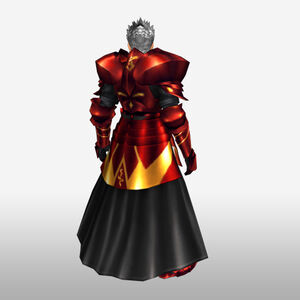 FrontierGen-Hero King Armor 003 (Male) (Both) (Back) Render