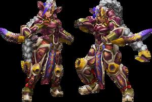 FrontierGen-Gasura Armor (Blademaster) (Both) Render 2