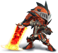 SSB4-Rathalos Armor (Male) Render 001