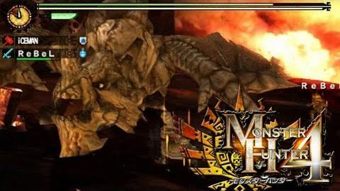 Monster Hunter 4 Nubcakes 23 - Gravios English commentary online gameplay