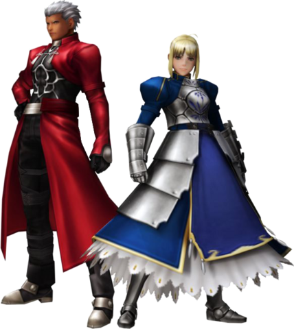 File:FrontierGen-Akahara Reisou Armor (Male) and Knight-King Armor (Female) (Both) Render 2.png