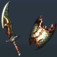MH3U-Sword and Shield Render 051