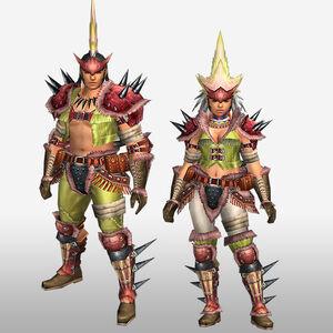 FrontierGen-Konga G Armor (Blademaster) (Front) Render