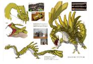 MH4U-Najarala Concept Art 002
