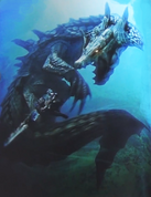 Lagiacrus Subspecies Art