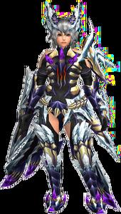 FrontierGen-Duke Armor (Both) (Female) Render 001