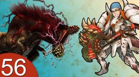 Monster Hunter 4 Nubcakes 56 - Savage Deviljho English commentary online gameplay