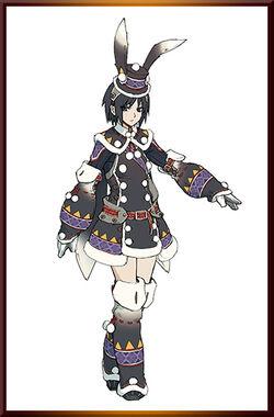 MHGen-Snowbaron Lagombi Armor (Female) Concept Art 001