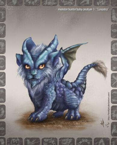 File:Monster Hunter baby Lunastra by terekjet.jpg