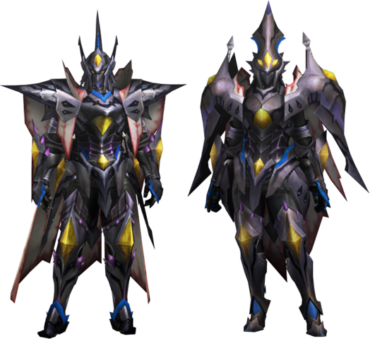 File:MH4U-Nerscylla Z Armor (Blademaster) Render 001.png